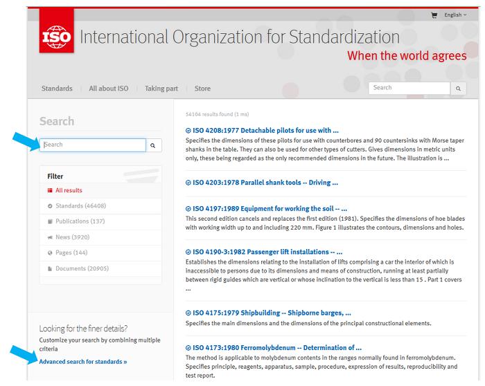 Standardizasyon Temel Düzey - Standartları Bulmak - Standart Arama