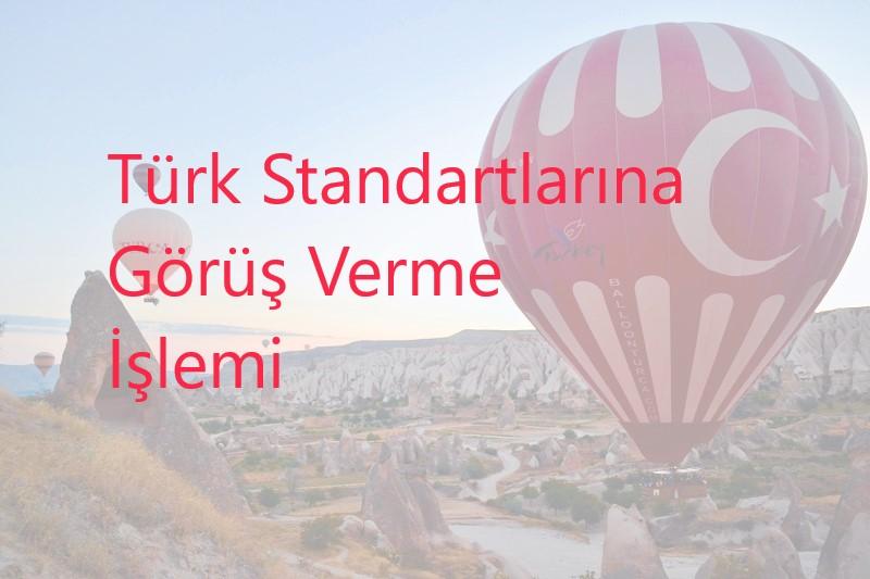 Türk Standartlarına Görüş Verme